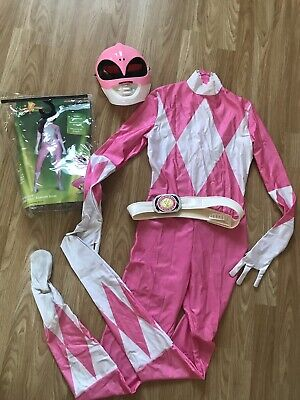 PINK POWER RANGER Morph Original Morphsuits party costume size Small/Med Adult
