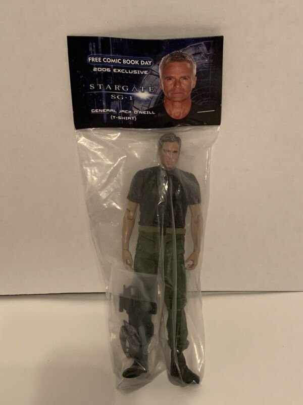 2006 Diamond Select Exclusive Stargate SG-1 General Jack O'neill Action Figure