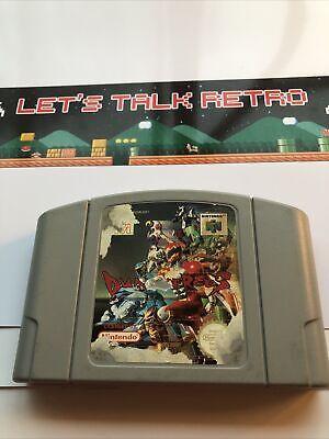 Dual Heroes Nintendo N64 PAL Cart Only