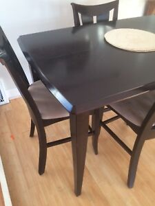 Tall pub height dinning room table. Make an offer