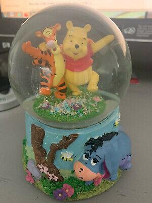 Winnie the Pooh Tigger and Eeyore Musical Snowglobe