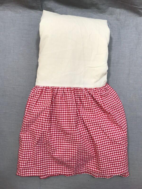 Grey bkb Solid Ruffled Mini Crib Skirt