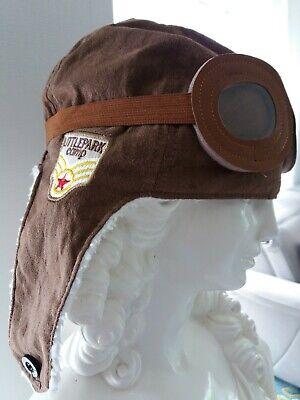 Wintermuetze-Fliegermuetze-mit-Pilotenbrille LITTLEPARK comp * Größe 3-5 Jahre ()