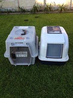 CAT CARRY CAGE AND LITTER HOUSE -  $60 FOR BOTH East Victoria Park Victoria Park Area Preview