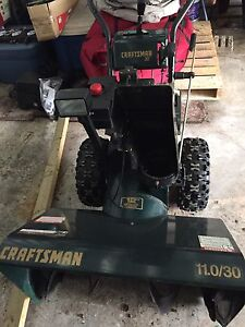 Craftsman snowblower with cab for sale