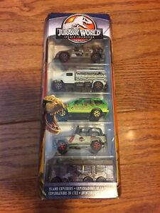 Matchbox Jurassic World Legacy Collection 5-Pack (Target US)