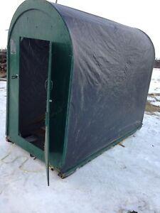 3 hole roomy ice fishing  hut!!!!