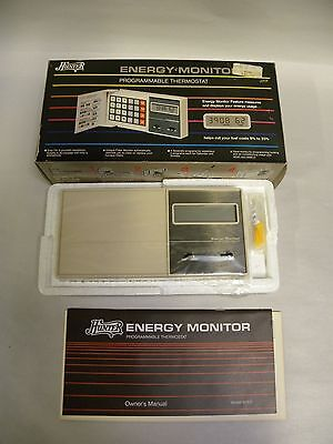 Unused Hunter Model 42201 Energy Monitor Programmable Thermostat  A7