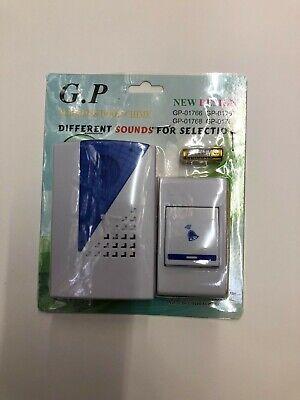 Different Sounds - Different  Sounds 1 remote control 1 wireless digital receiver doorbell door bel