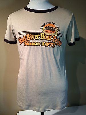 MAD RIVER BOAT TRIPS Mens MD Medium Shirt tshirt tee t t-shirt whitewater raft