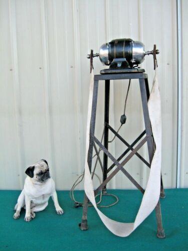Antique Vintage Graybar Stimulator Vibrator Belt Exercise Slimming Gym Machine