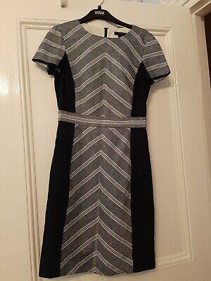 J Crew Navy Linen Cotton Dress Size 2 Us Uk 6 Xs