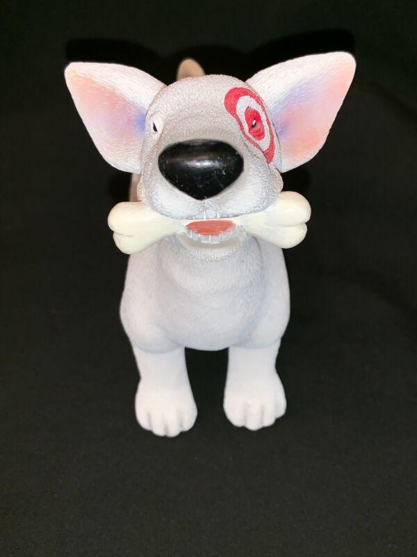 RARE TARGET Store Terrier Dog Bullseye Bobblehead Figurine