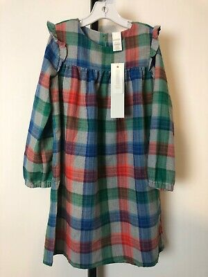 NWT! Gymboree Girls 2018 Plaid Nightgown Holiday Christmas XL 14 (Girls Christmas Nightgown)