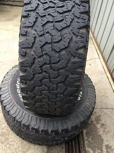 BfGoodrich T/A 33x12.50 r15 tyres Meadow Heights Hume Area Preview