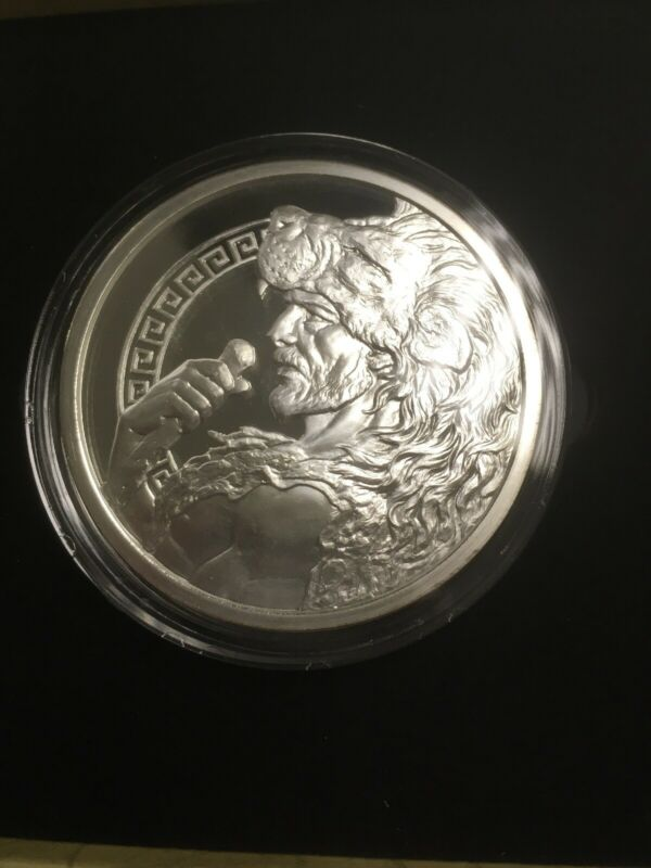 12 LABORS OF HERCULES | 2015 Proof 5 oz .999 Silver Round-ONLY 500 COINS Minted