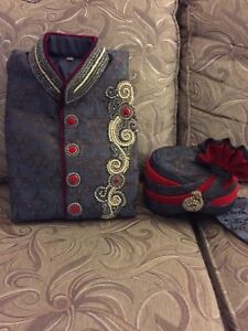 Indian Wedding Suit for the Groom (Sherwani)