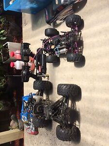 X2 nitro cars/trucks swap for water ski gear Rowville Knox Area Preview