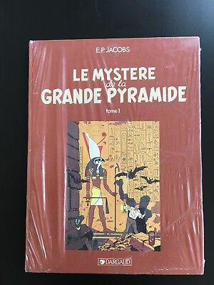 SOUS CELLO * JACOBS * BLAKE ET MORTIMER * LE MYSTERE DE LA GRANDE PYRAMIDE * TL