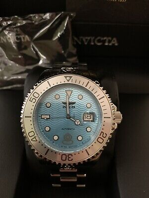 Invicta Grand Diver Men's Watch Automatic Ocean Voyage 47mm Aqua Dial 29003