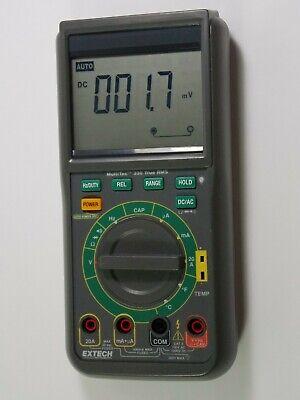 Extech Instruments Mt330 Multitec 330 True Rms Multimeter Fff3
