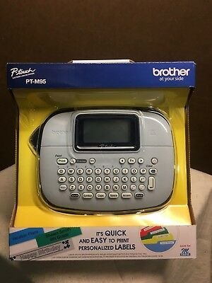 Brother P-touch Pt-m95 Electronic Labeling System