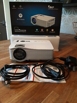 SMP LED mini projector for home entertainment
