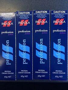 5 x Indola Profession Permanent Hair Colour 60g