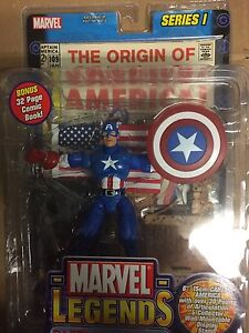 Marvel legends 6 inch captain America toy