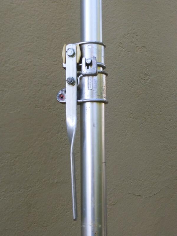 """Manfrotto Autopoles 032 79""""-144"""" Aluminum Made in Italy 1pair(2) telescopic"""