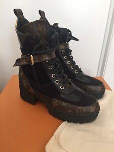 Louis Vuitton desert boot limited edition size 37