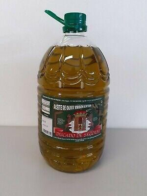 Aceite de oliva virgen Extra DUCADO DE SEGORBE 5 Litros
