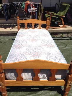 Single size bed with mattress $120 Bexley Rockdale Area Preview