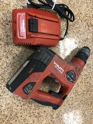 Hilti Te 4-a18  Cordless Rotary Hammer Drill 5.2ah Battery Charger