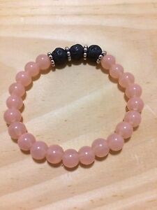 Aromatherapy Essential Oil Bracelets with Lava rock London Ontario image 9