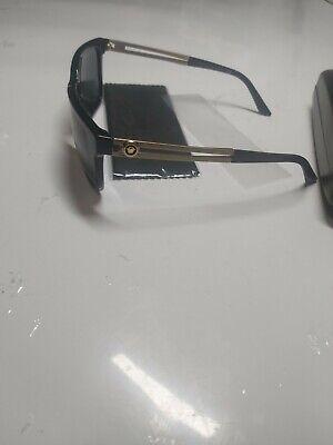 men's versace sunglasses ve4307 gb1/87 black/gold 58mm