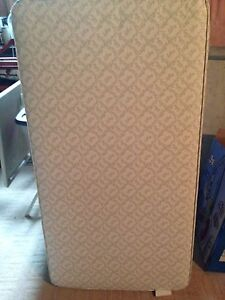 Gently used crib mattress & crib bumper
