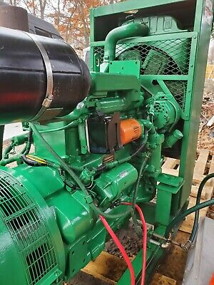 Northern Lights 40 Kw 138a John Deere Diesel Generator Farm Industrial 50 Hours