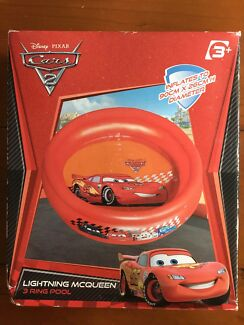 CARS2 Lightning McQueen Inflatable 3 ring pool