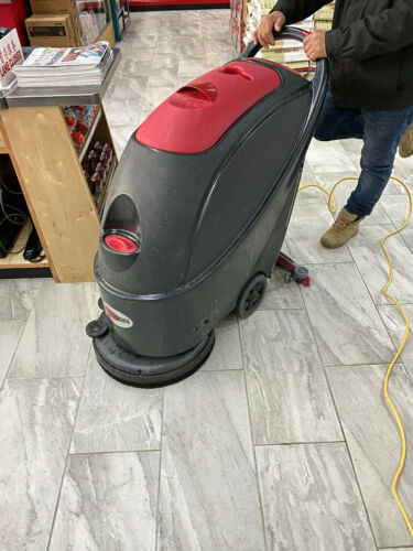 """Viper Cleaning Equipment 50000226 AS430C Cord/Electric Scrubber, 17"""" Brush, 66"""