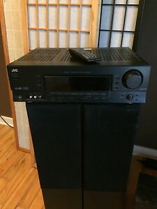 JVC receiver/amplifier.
