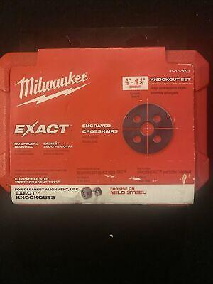 Milwaukee Exact 12-1-14 Knockout Set 49-16-2692 New In Cs