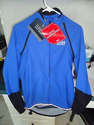 5563d5e46 GORE BIKE WEAR POWER WINDSTOPPER SOFTSHELL JERSEY MEN S SMALL (S) -  199.95