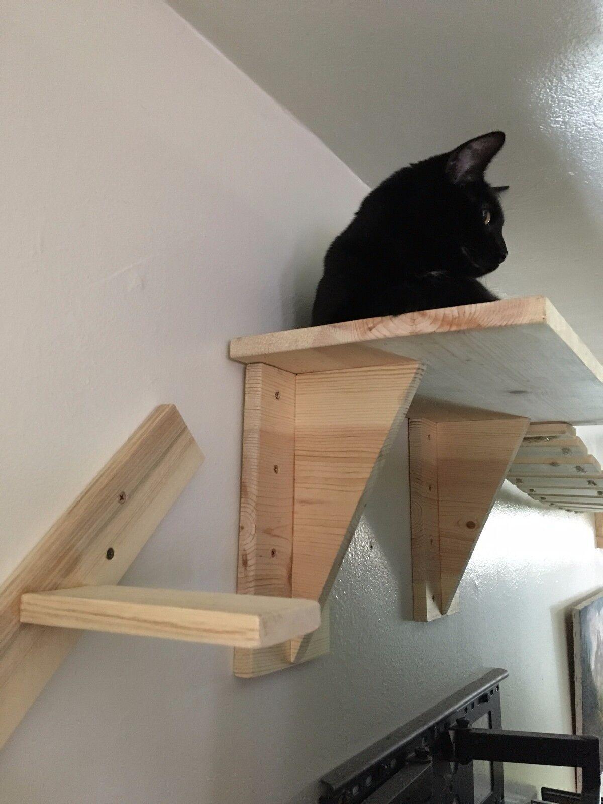 Cat Wall Adventure Bridge Tree   FREE SHIPPING ! ! ! Brand New. Hand Made  In CA