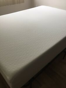 Double Memory Foam Mattress and Frame