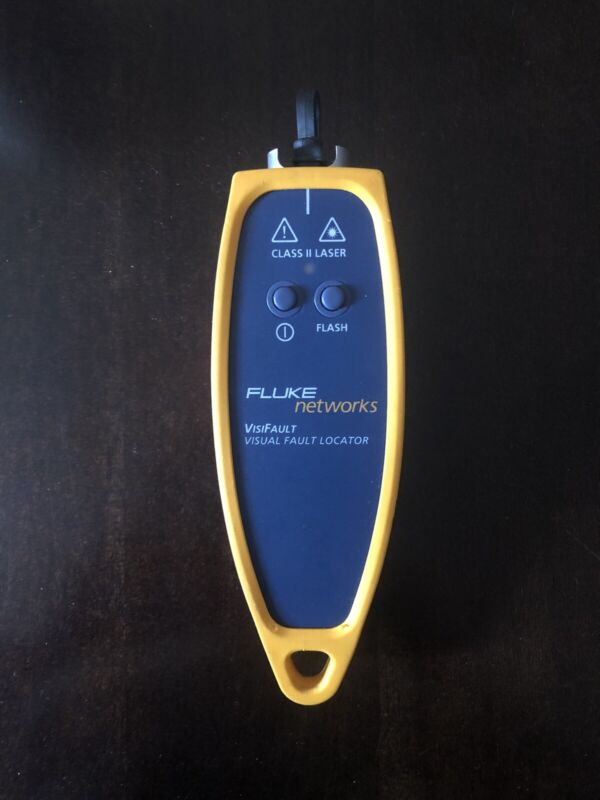 Fluke Networks VisiFault Visual Fault Locator, Class II Laser Works perfectly