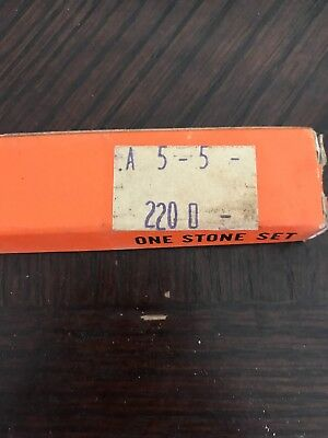 Superior Hone Corporation A-5-5 220 Honing Stone Set New In Box