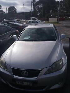 NOW WRECKING LEXUS IS250 SILVER COLOR ALL PARTS Dandenong South Greater Dandenong Preview