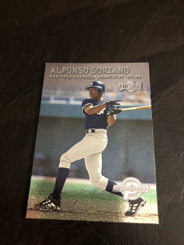 2004 Leaf Second Edition # 53 NM//MT Alfonso Soriano Baseball Card