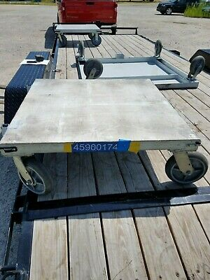 Heavy Duty Steel Dolly Cart - 36 X 36